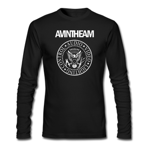 AVinTheAM AVpunk Men's Long Sleeve T-Shirt (LIMITED EDITION) - black