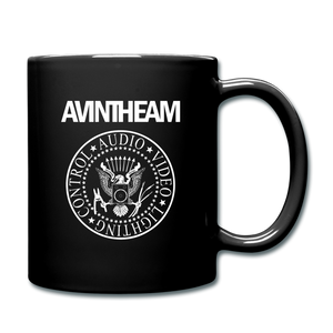 AVinTheAM AVpunk Coffee Mug (LIMITED EDITION) - black