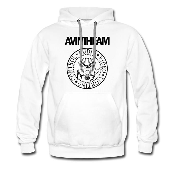 AVinTheAM AVpunk SNOW Premium Hoodie (LIMITED EDITION) - white