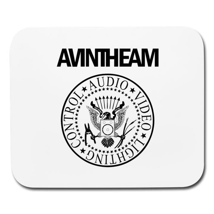 AVinTheAM AVpunk Mouse pad (LIMITED EDITION) - white
