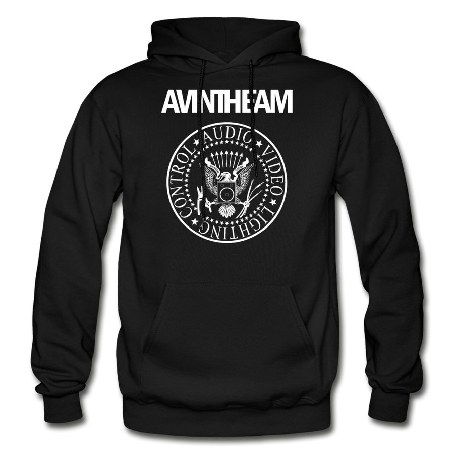 AVinTheAM AVpunk Heavy Blend Adult Hoodie | 3X-5X (LIMITED EDITION) - black