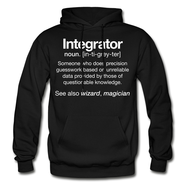 AV Integrator Definition Hoodie | 3XL-5XL - black