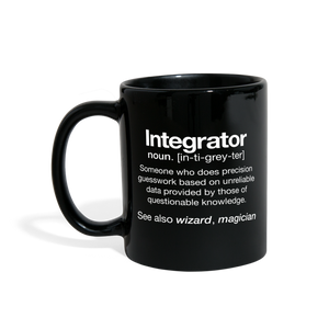 AV Integrator Definition Mug - black