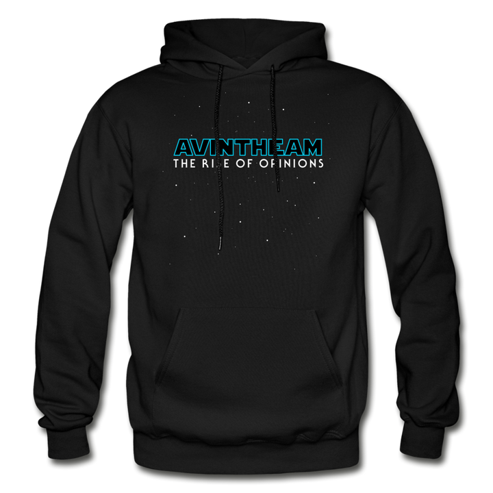 AVinTheAM Opinions Hoodie | 3XL-5XL (LIMITED EDITION) - black