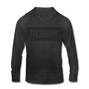TECHBOSS® Black Badge Tri-Blend Hoodie Shirt (EXCLUSIVE)
