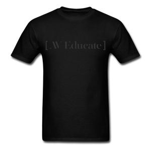 AV Educate Backstage Black T-Shirt
