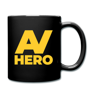 AV Hero Ceramic Mug - black