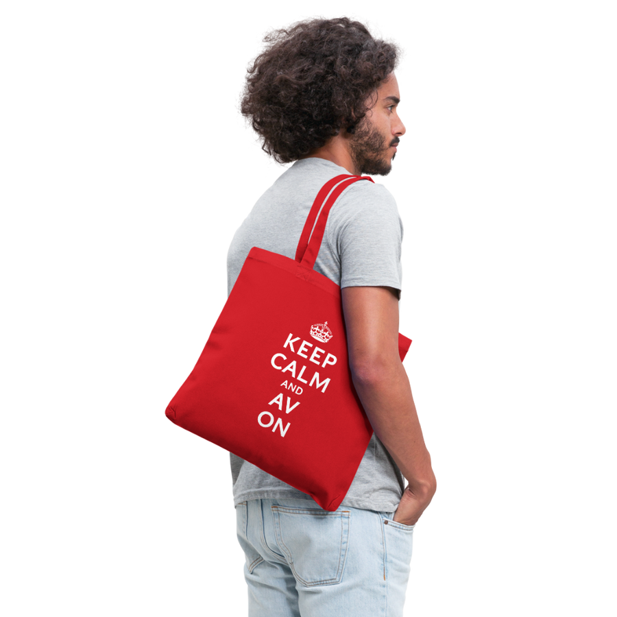 Keep Calm And AV On Tote Bag (EXCLUSIVE)