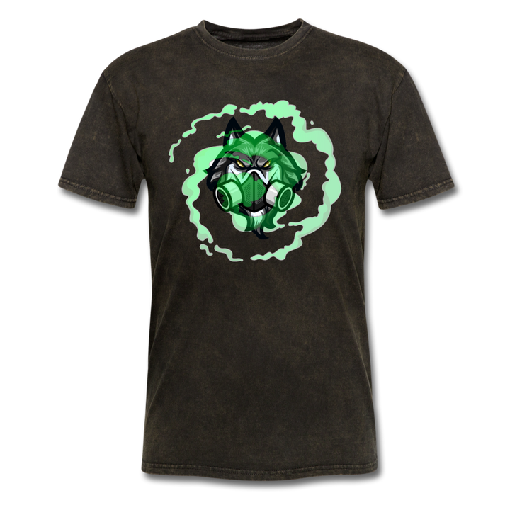 TOXICbiowolf Mineral Wash T-Shirt - mineral black