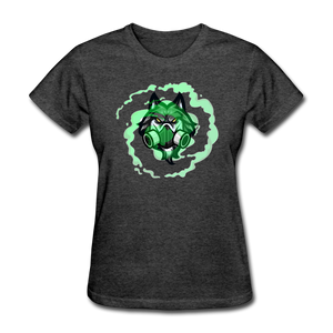 TOXICbiowolf Women's T-Shirt - heather black