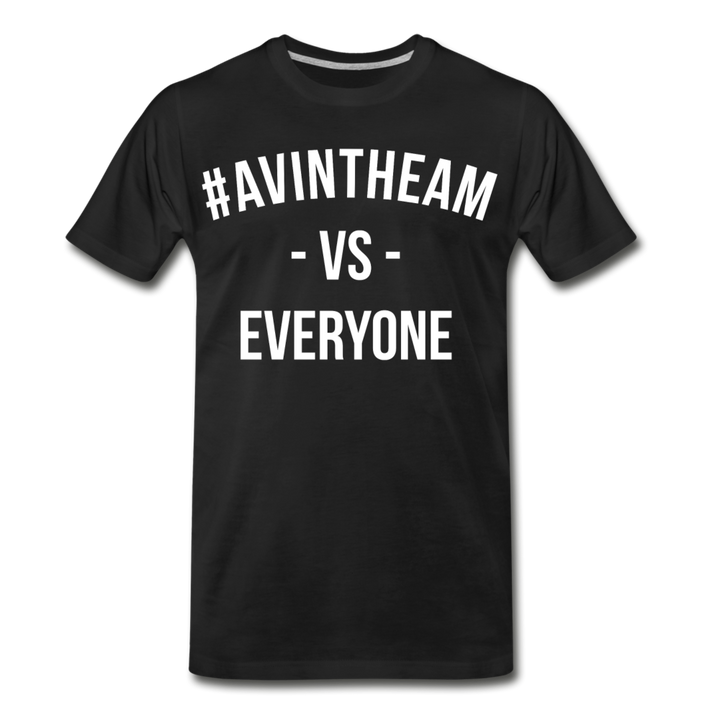 AVinTheAM VS Premium T-Shirt - black