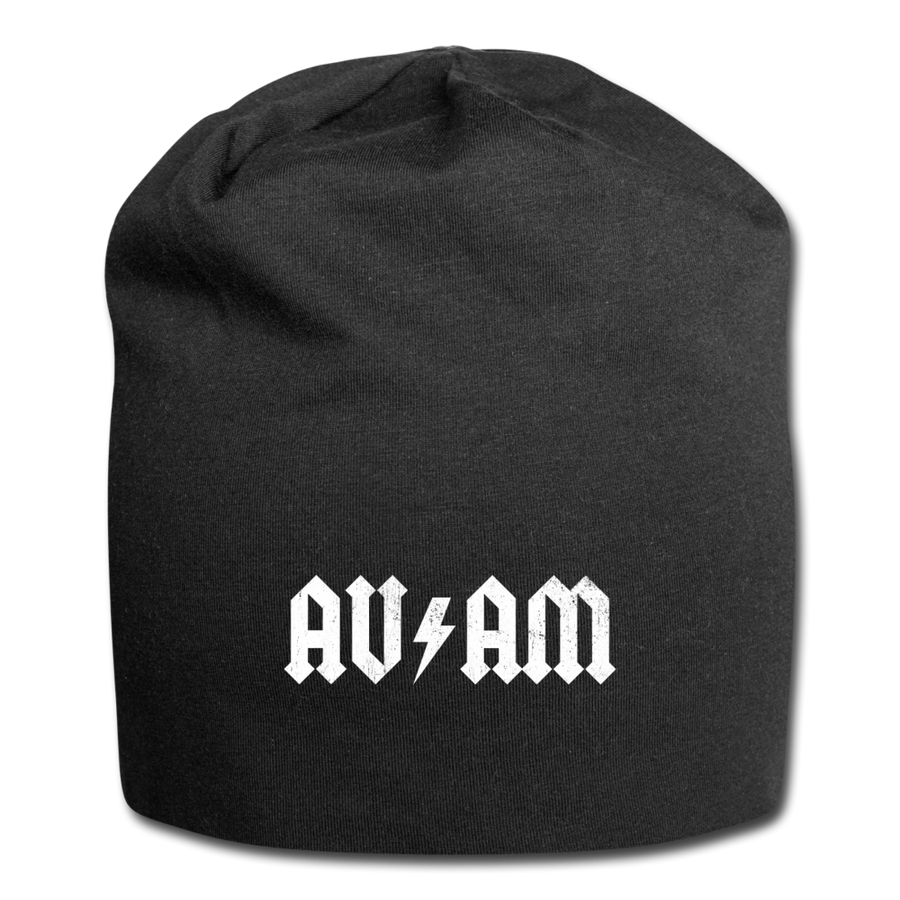 AVinTheAM High Voltage Jersey Beanie (LIMITED EDITION) - black