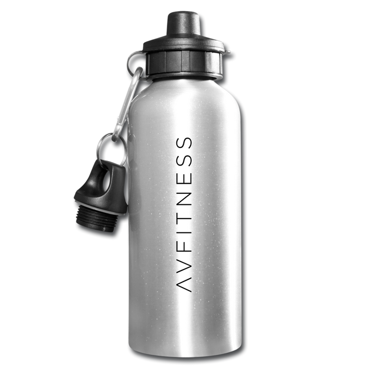 AVFITNESS Water Bottle - silver