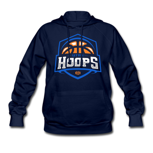 Utah Hoops Women's Hoodie (runs large) - navy