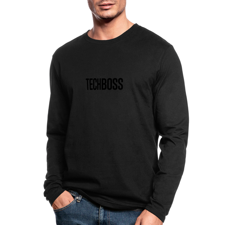 TECHBOSS® Black Badge Men's Long Sleeve T-Shirt (LIMITED EDITION)