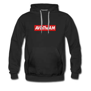 AVinThe AM Supremy Men's Premium Hoodie (LIMITED EDITION) - black