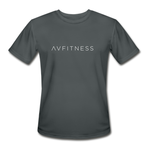 AVFITNESS Men's Moisture Wicking Performance T-Shirt - charcoal