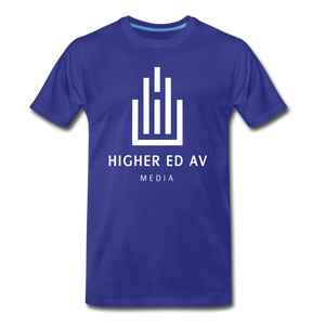 Higher Ed AV Premium T-Shirt - royal blue