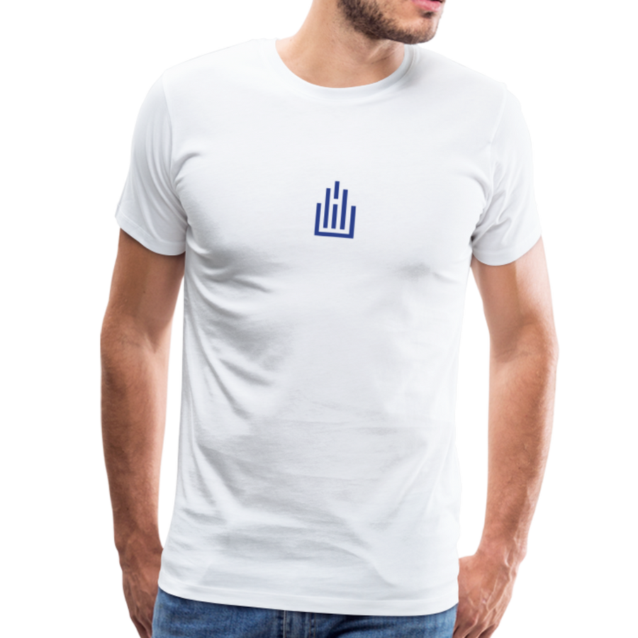 Higher Ed AV Podcast Blanc Men's Premium T-Shirt