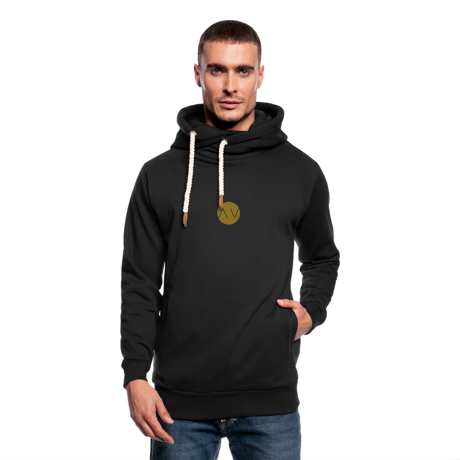 AVFITNESS Premium Metallic Shawl Collar Hoodie