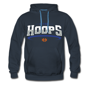 Utah Hoops™ Adult Men's Premium Hoodie YES - navy