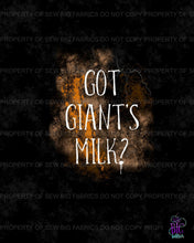 Got Giant's Milk Panel