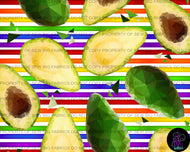Rainbow Stripes - Avocado's