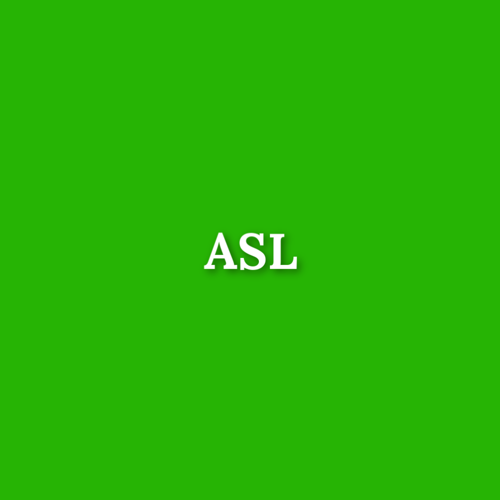ASL - Discounted slightly flawed fabric