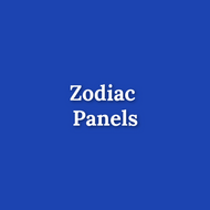 Zodiac Panels - Discounted flawed fabric