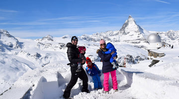Family Travel Spotlight: Family of 5 Switzerland