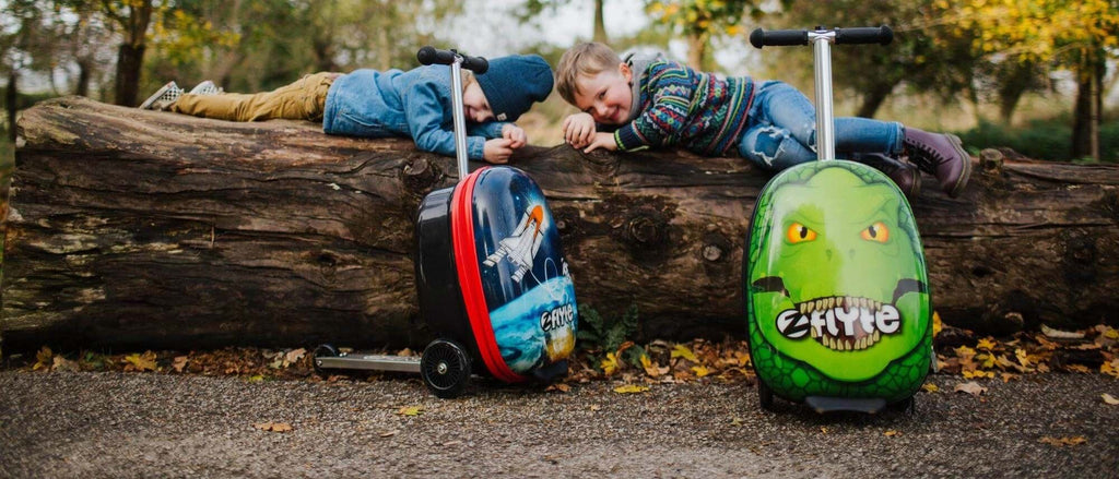 Flyte kids luggage scooter