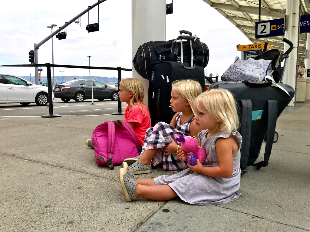 travel with three kids