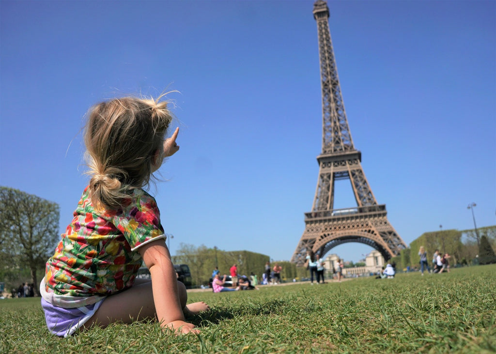 Paris with kids travel