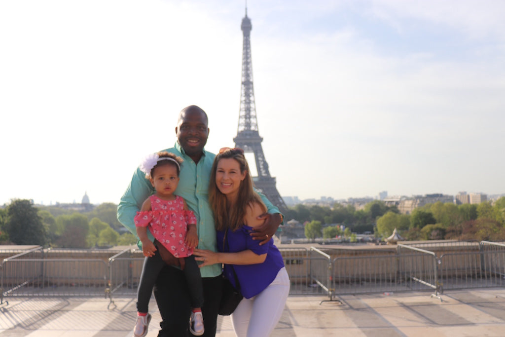 Jet Life Baby family travel Paris