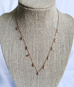 Rose Gold Layering Necklace