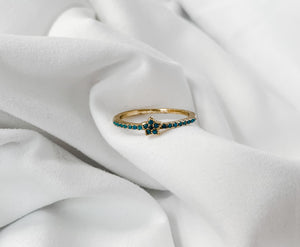 Delicate Flower Ring