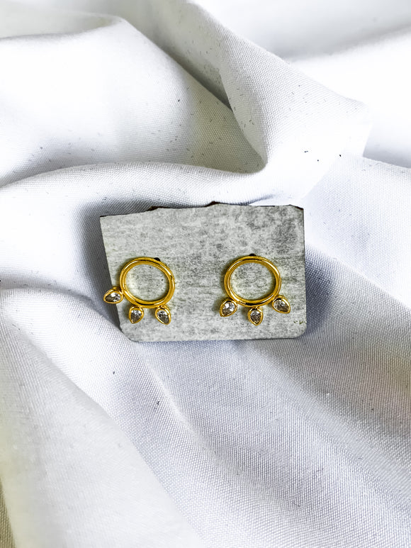 Embelished Stud Earrings