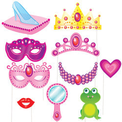 Princess Photo Booth Props
