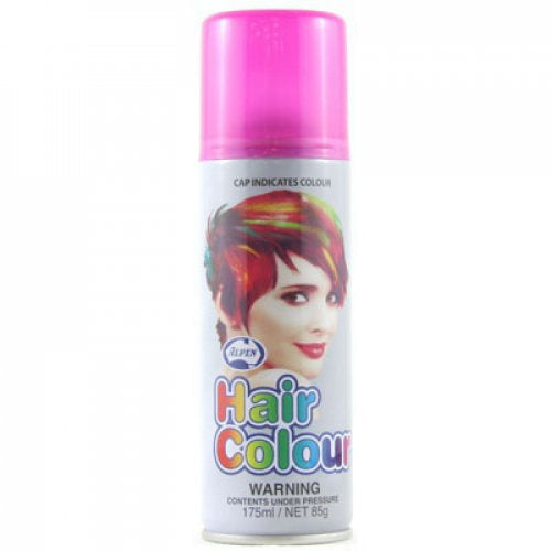 Fluro Pink Coloured Hairspray