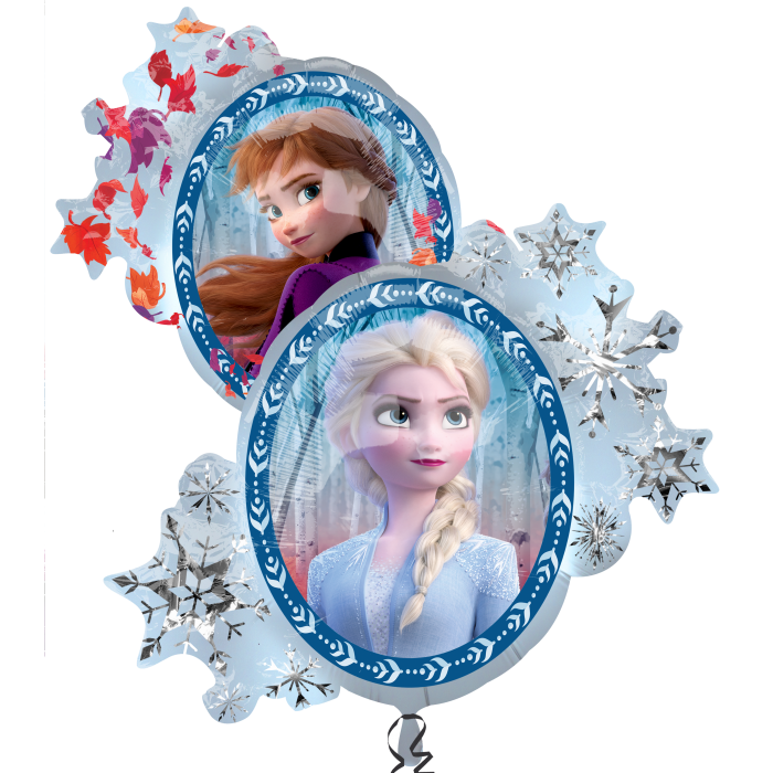 Disneys Frozen 2 Holographic Double Sided Balloon