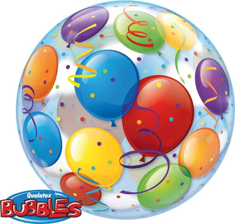 Bubble Balloon Print