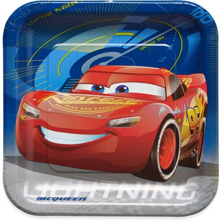 Lighting McQueen Plates