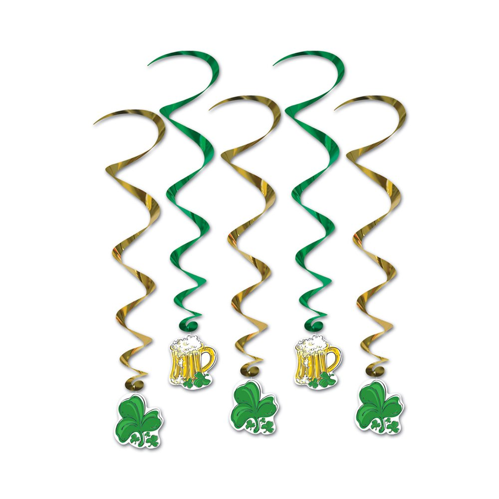 St. Patrick's Day Whirls