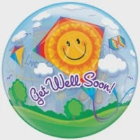 Get Well Soon Kites Balloon
