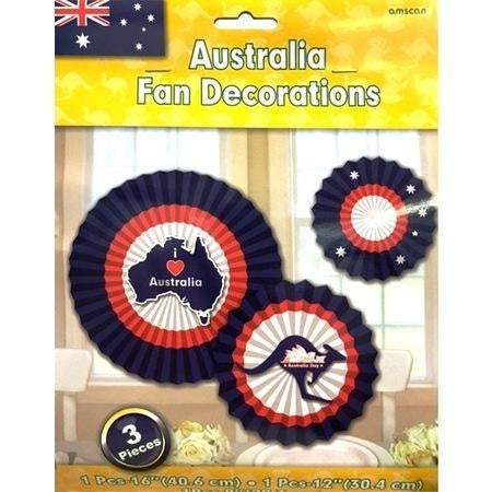 Australia Fan Decorations