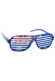 Australia Day Glasses