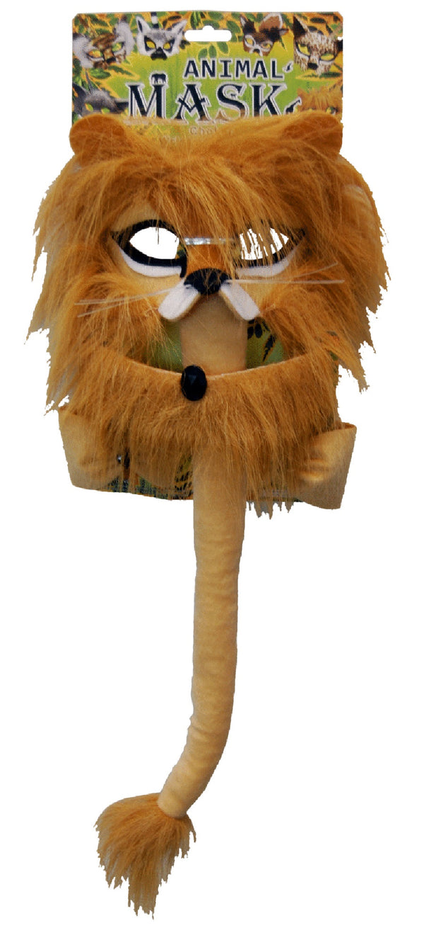 Deluxe 5pc Animal Costume Set Lion