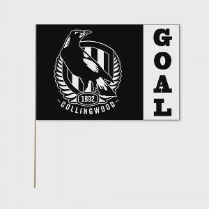 AFL Collingwood Large Flag
