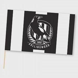 AFL Collingwood Medium Flag