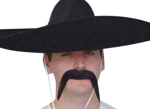Mexican Moustache Black